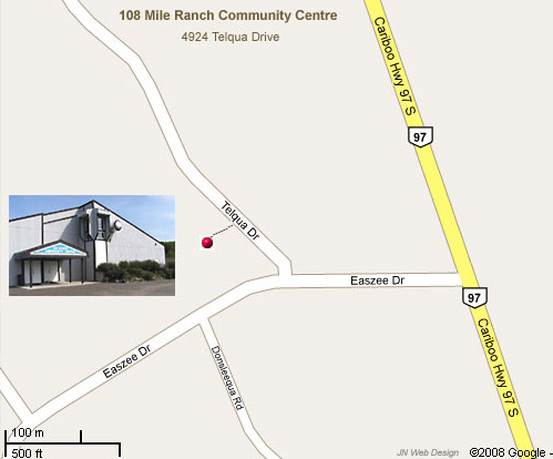 Directions to 108 Mile Ranch Community Centre